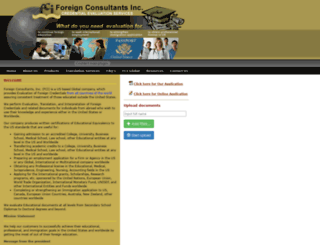 foreignconsultants.com screenshot