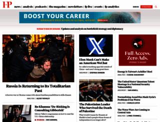 foreignpolicy.com screenshot