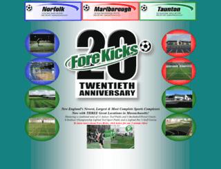 forekicks.com screenshot
