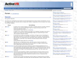 foren.activevb.de screenshot