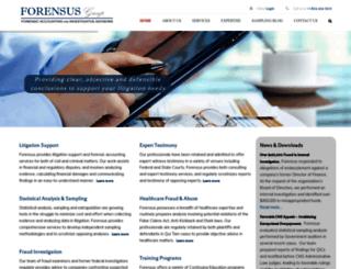 forensus.com screenshot