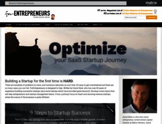 forentrepreneurs.com screenshot