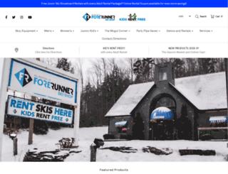 forerunnerskishop.com screenshot