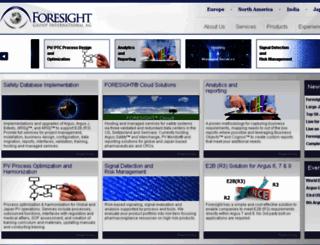 foresight-grp.com screenshot