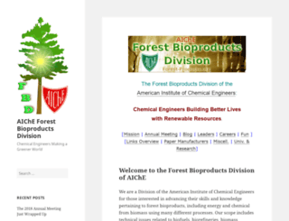 forest-products.org screenshot