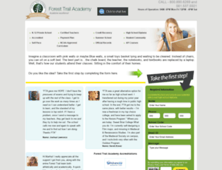 forest-trail-academy.com screenshot