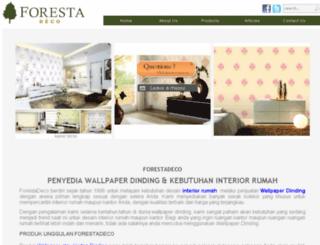 forestadeco.com screenshot