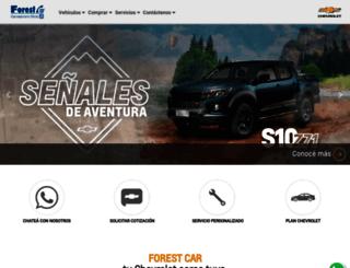 forestcar.com.ar screenshot