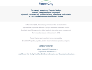 forestcity.net screenshot