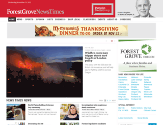 forestgrovenewstimes.com screenshot