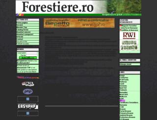 forestiere.ro screenshot