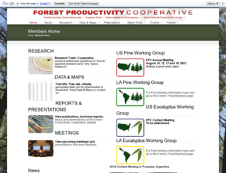 forestnutrition.org screenshot
