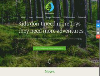 forestpedagogics.eu screenshot
