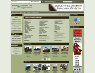 forestryequipmentsales.com screenshot