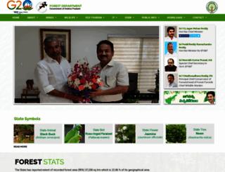 forests.ap.gov.in screenshot