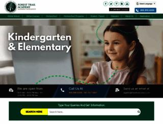 foresttrailacademy.com screenshot