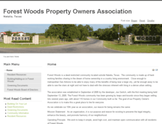 forestwoodspoa.pairserver.com screenshot