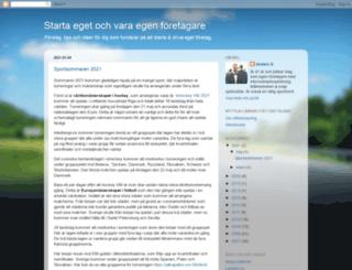 foretagare.blogspot.com screenshot