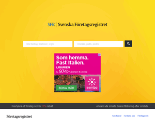 foretagskatalogen.com screenshot