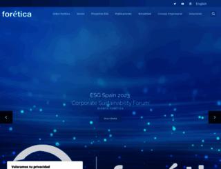 foretica.org screenshot