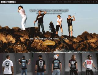 foretitude.com screenshot