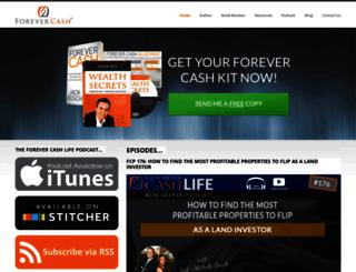 forevercash.com screenshot