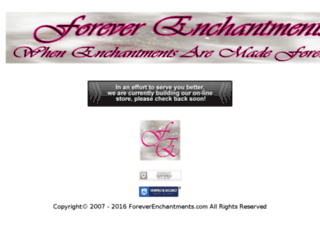 foreverenchantments.com screenshot