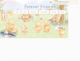 foreverfriends.co.uk screenshot