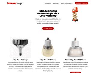 foreverlamp.com screenshot