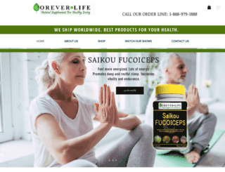 foreverlifeusa.com screenshot