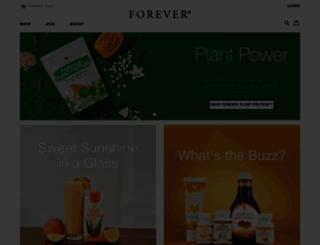 foreverliving.com.kz screenshot