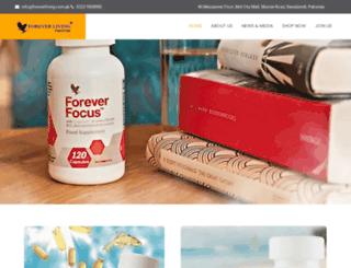 foreverliving.com.pk screenshot