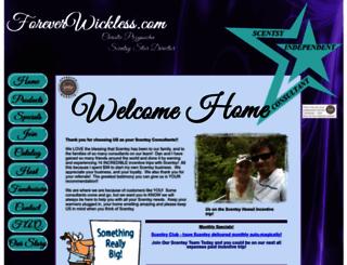 foreverwickless.com screenshot