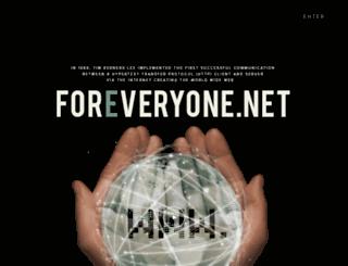 foreveryone.net screenshot