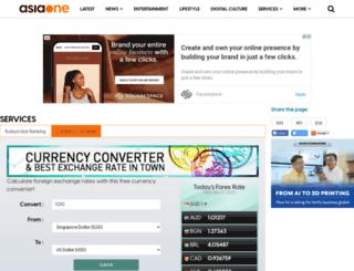 forex.asiaone.com screenshot