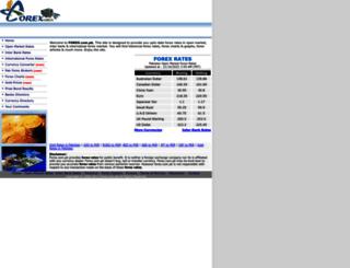 forex.com.pk screenshot