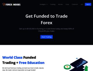forex4noobs.com screenshot