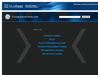 forexachievements.com screenshot