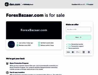forexbazaar.com screenshot