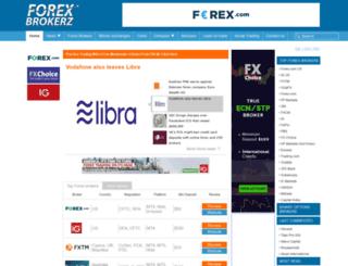 forexbrokerz.com screenshot