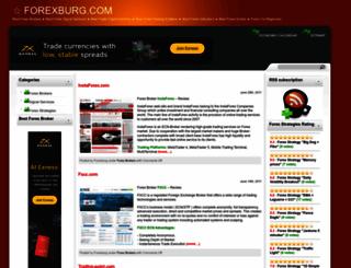 forexburg.com screenshot