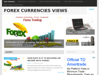forexcurrencyreviews.info screenshot