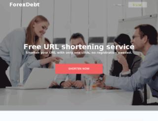 forexdebt.net screenshot