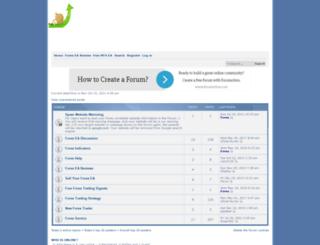 forexea.forumotion.com screenshot