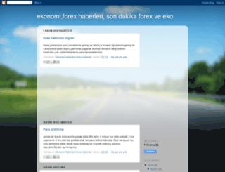 forexekonomi.blogspot.com screenshot