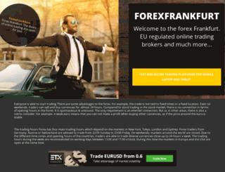 forexfrankfurt.com screenshot