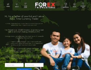 forexindicator.org screenshot