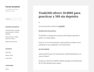 forexinvestor.es screenshot
