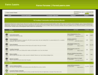 forexlasers.com screenshot