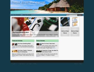 forexlifestyleguide.com screenshot